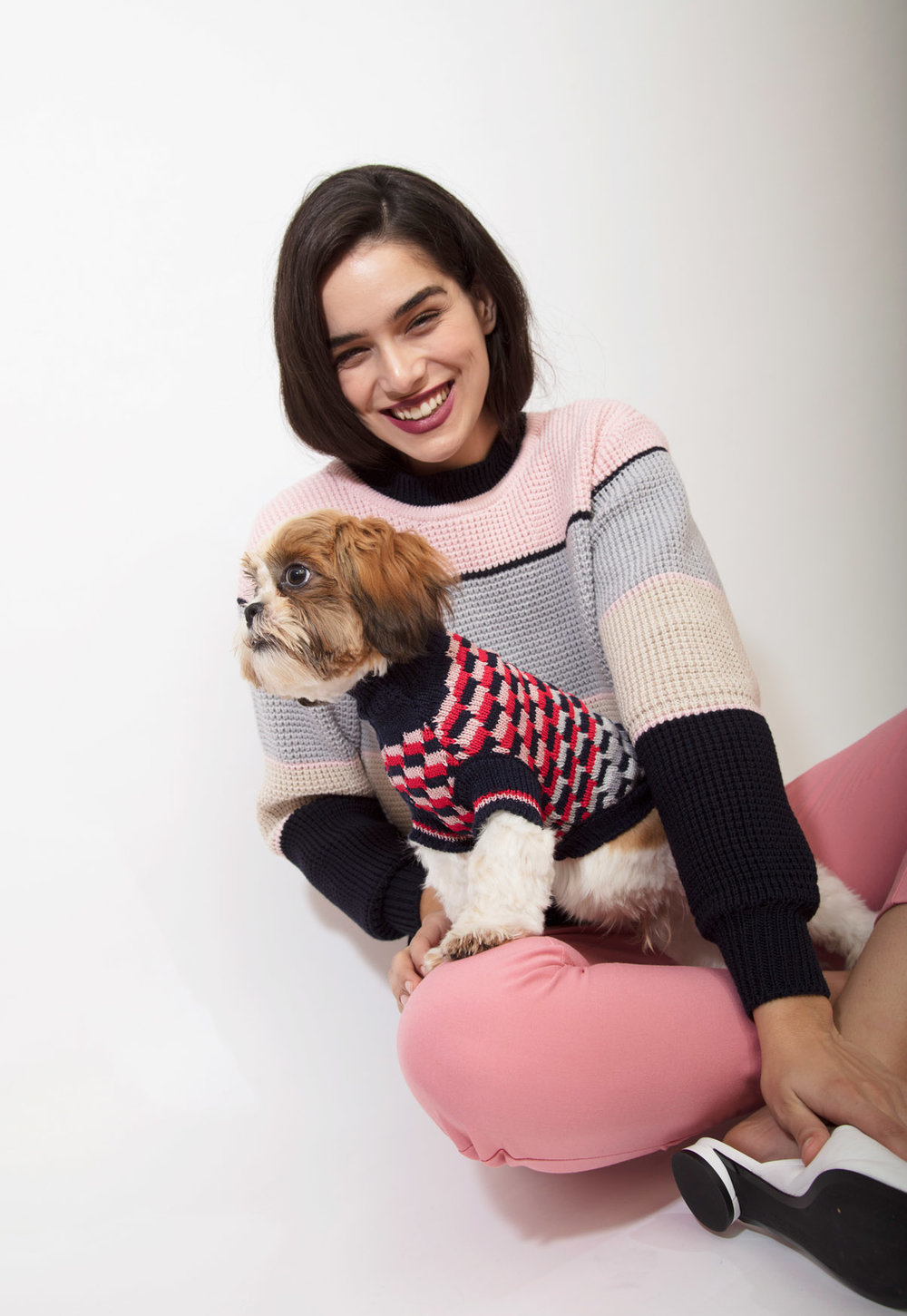 DOG JUMPER KNITWEAR MADE IN UK