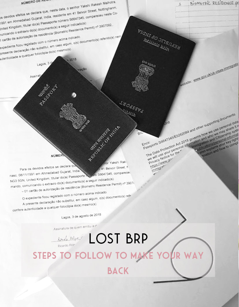 6 STEPS TO FOLLOW IF YOU HAVE LOST YOUR BRP OUTSIDE THE UK — Yakshi