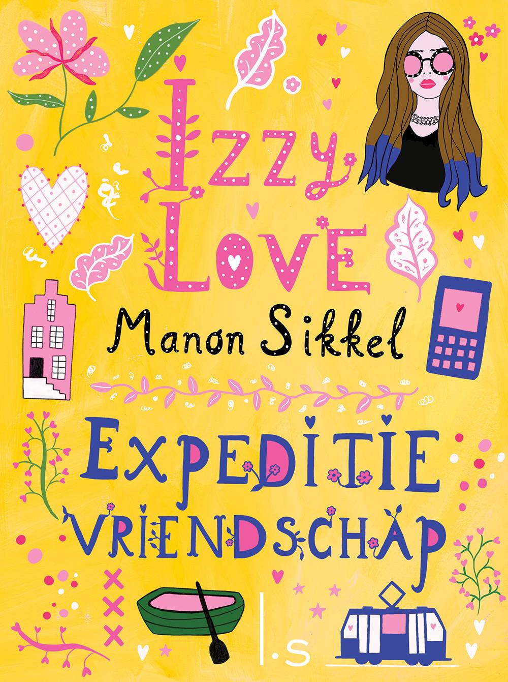 Boeken Izzy Love, opdrachtgever: Luitingh Sijthoff