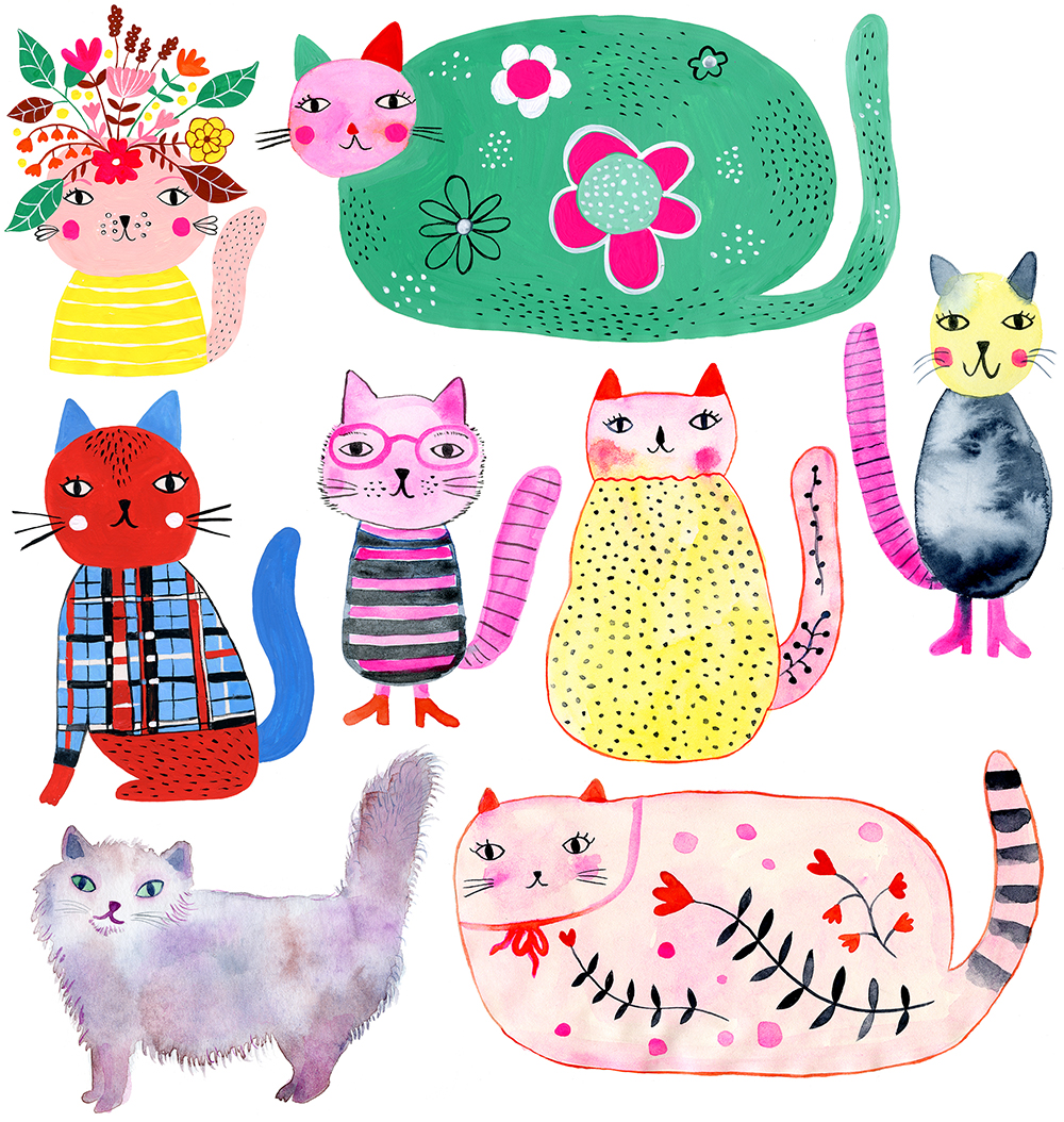 marenthe illustration series of cats.jpg