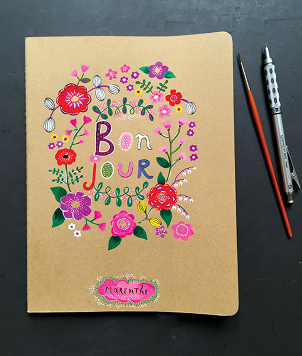 Journal Cover, Creative Folk Art & Beyond, client: Quarto | Walter Foster.jpg