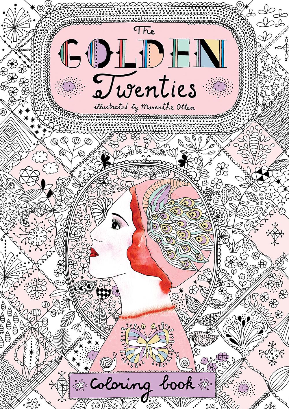 Marenthe Golden Twenties illustration Coloring book.jpg