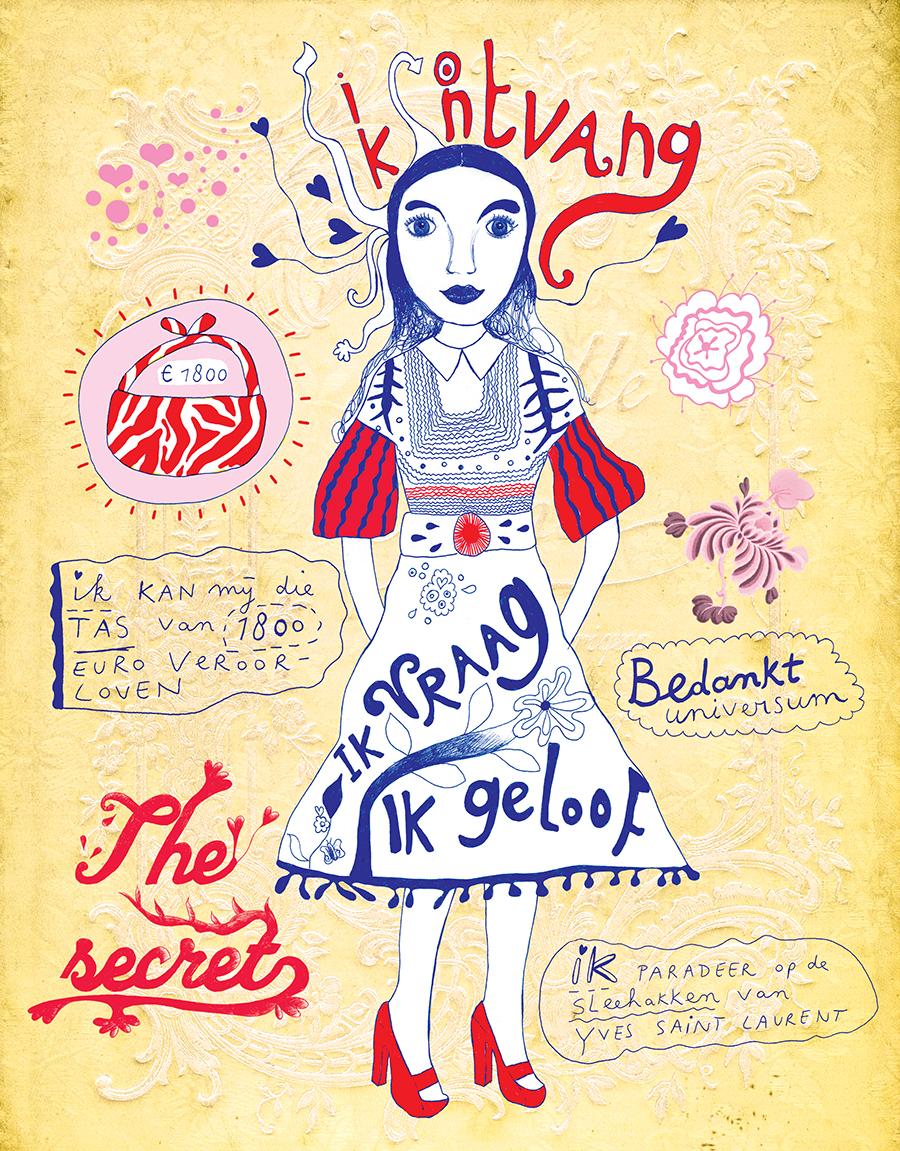 Elle magazine, the secret by Marenthe.jpg