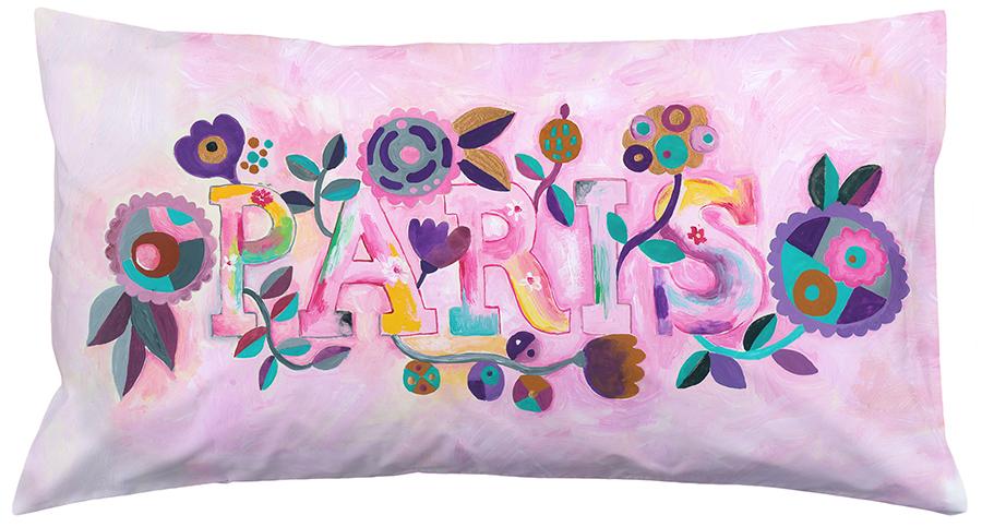 Marenthe Paris Love Nest Collection Home Decor fabric cushion paris.jpg