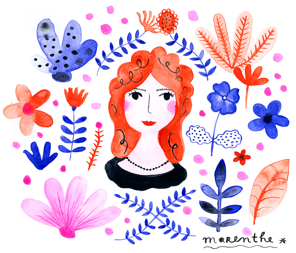 Marenthe Girl with Red Hair.jpg