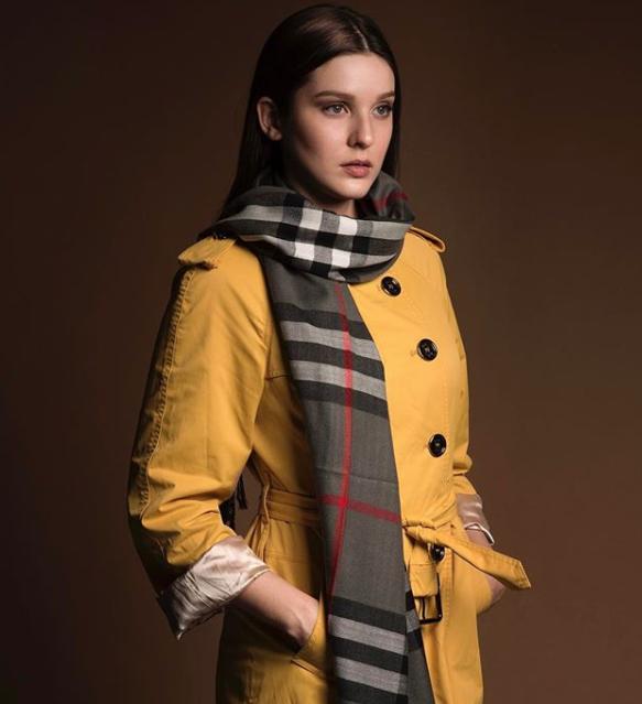 BURBERRY CAMPAIGN  Model: Cristina Londono  Photographer: Javier Asturias  Styling: Mariana Alvarez