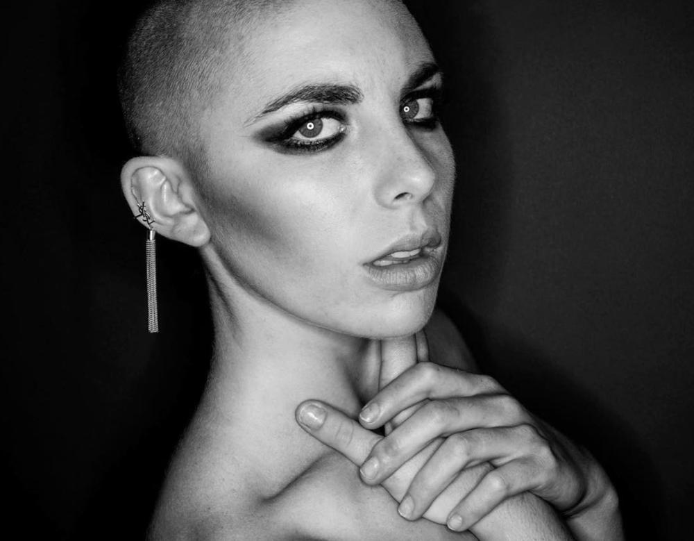 YSL CAMPAIGN  Model: Lilian Garlick  Photographer: Javier Asturias