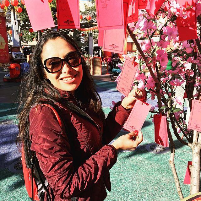 Celebrando o Ano Novo Chinês na @unistudios 🐷 . A cada ano a celebração ocorre em um dia diferente. Em 2019 foi em 05 de fevereiro, quando iniciou-se o Ano do Porco, trazendo abundância e leveza. . Os envelopes vermelhos são tradicionalmente distribuídos com dinheiro entre os chineses 🧧, mas por aqui entramos no espírito espalhando nossos desejos para o Ano Novo🕊❤️😃✈️✈️✈️ . Quais são seus desejos para 2019??? #anonovochines #universalstudios #anodoporco #instamood #paromundo