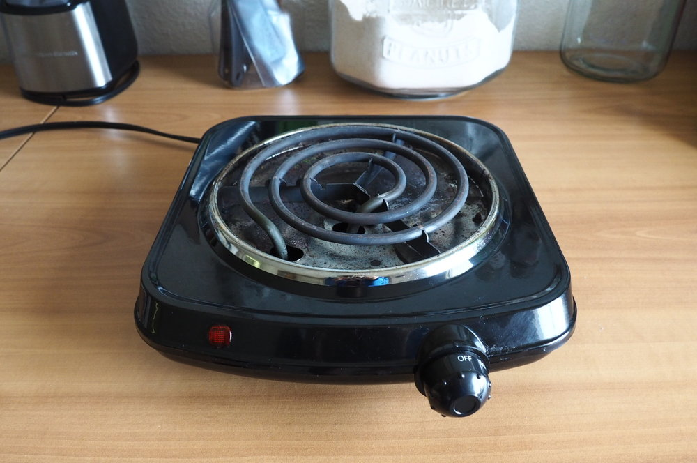 Hot Plate Coiled