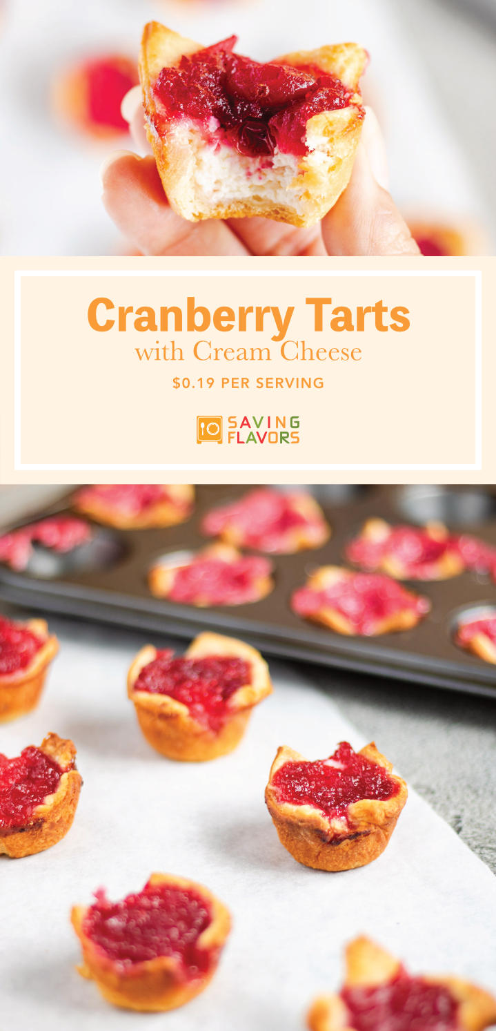 Cranberry Sauce Tarts with Cream Cheese in Crescent Roll Pastry.jpg
