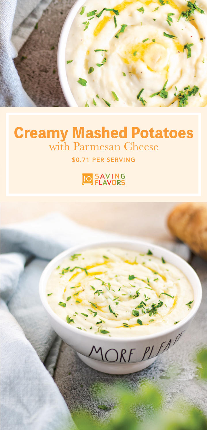 Creamy, buttery, and a little cheesy. This simple mashed potato recipe is a side you must feature in your thanksgiving meal!