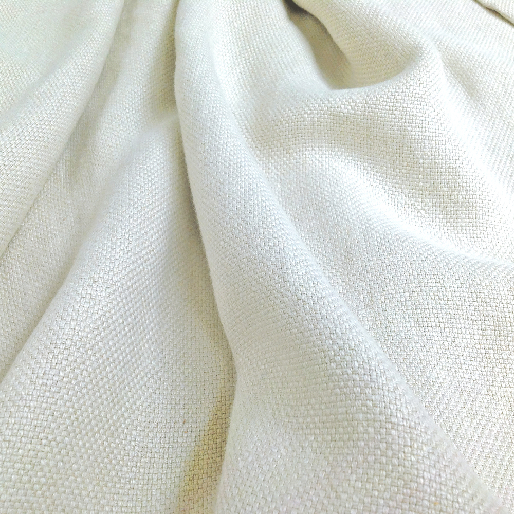 Belgian Luxe, Linen Fabric, Russian Hill Pale Natural