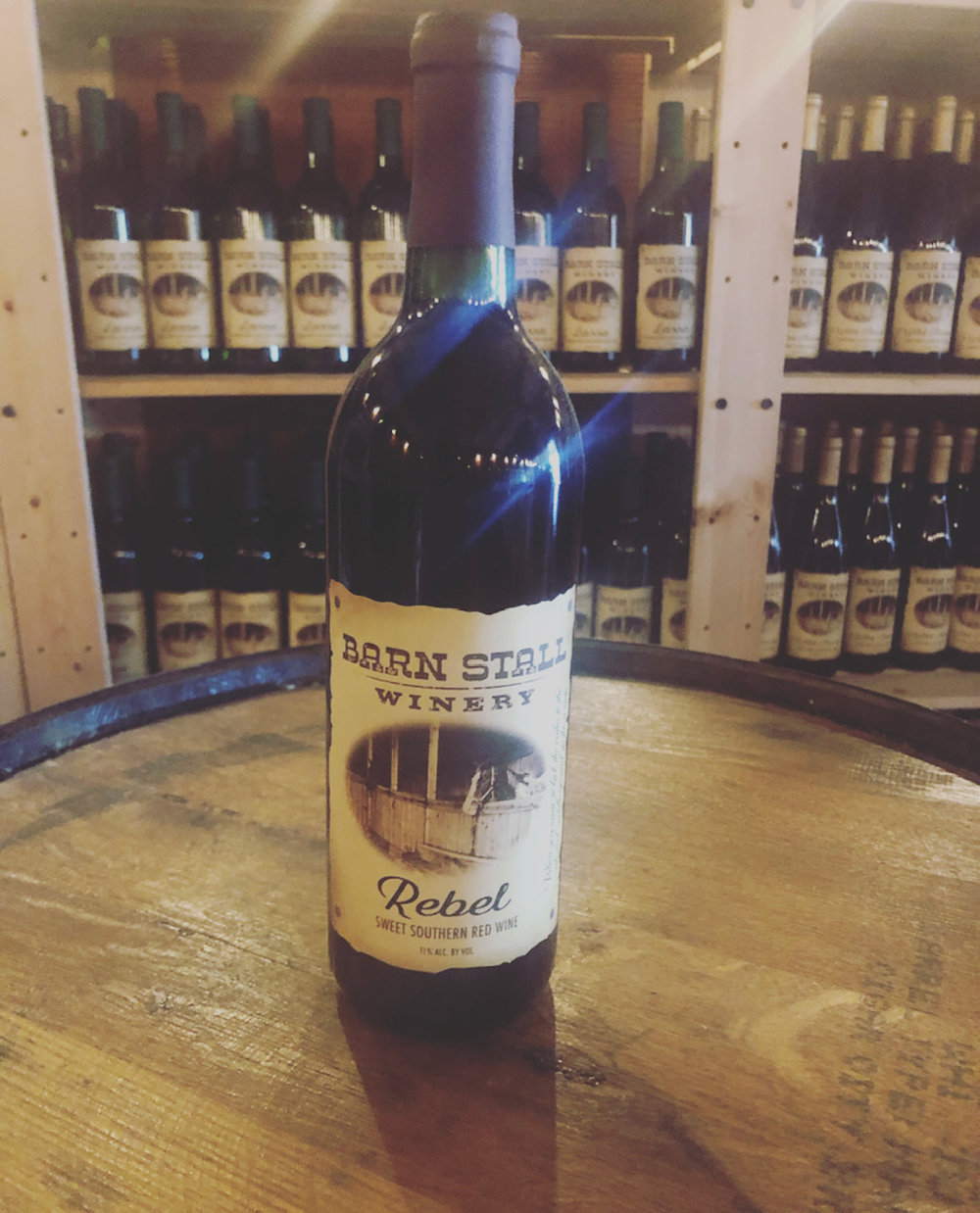 Rebel - Sweet Southern Red Wine. When you want to kick the rules to the side and saddle up and go for a ride. 11% alc