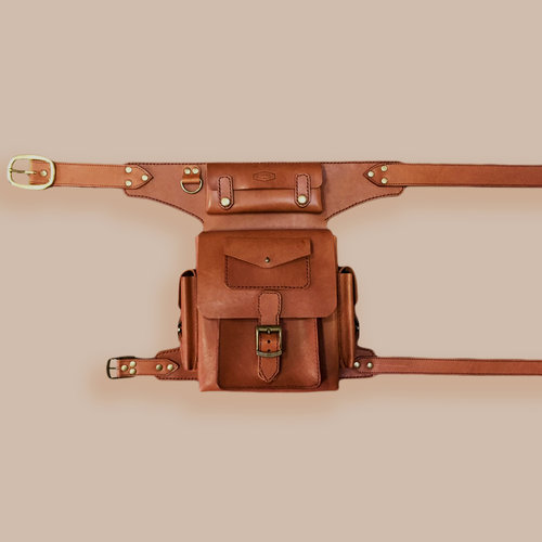 Terracotta Veg Tan Fanny Pack