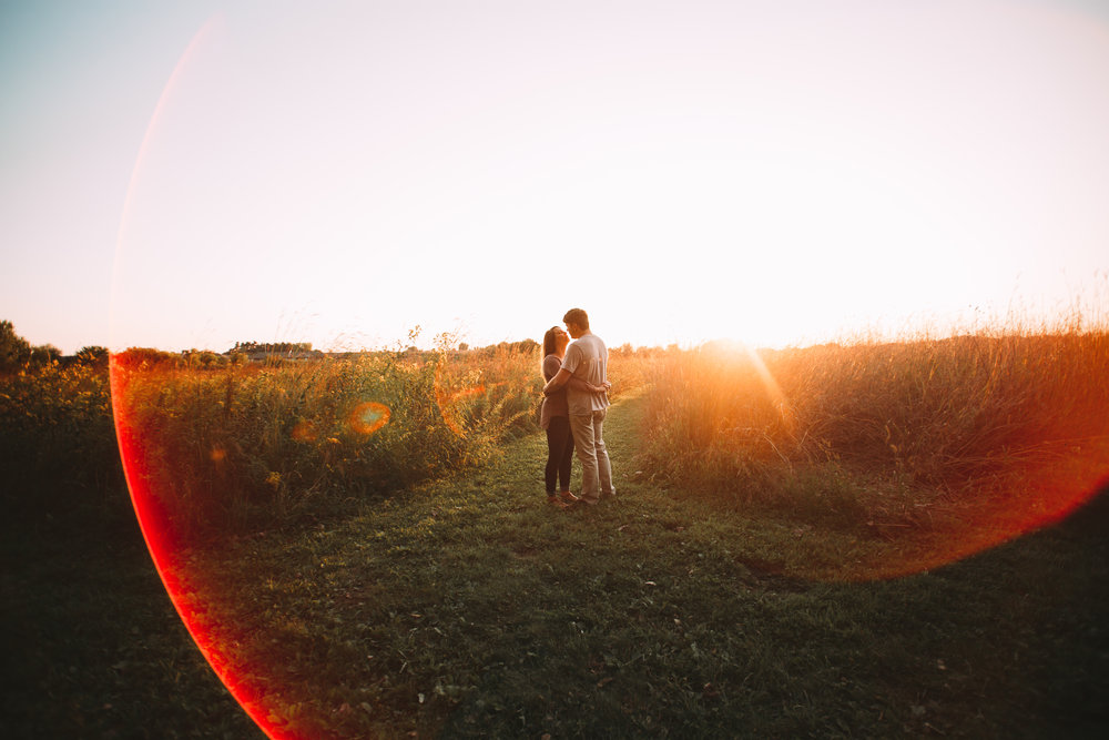 Noah + Caylee Couples Session