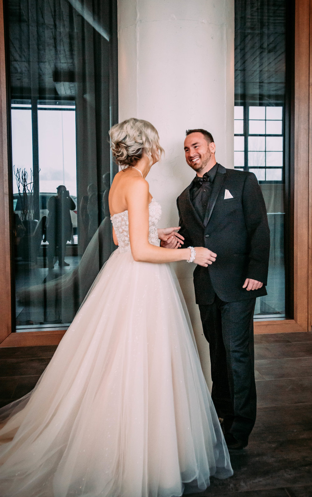 Wedding Gallery - Click to see them tie the knot.