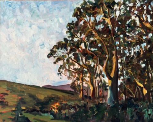 Toby Trail   Oil  20 x24