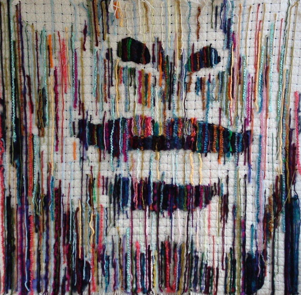 Breath   48 x48  wool and synthetic yarn  2006