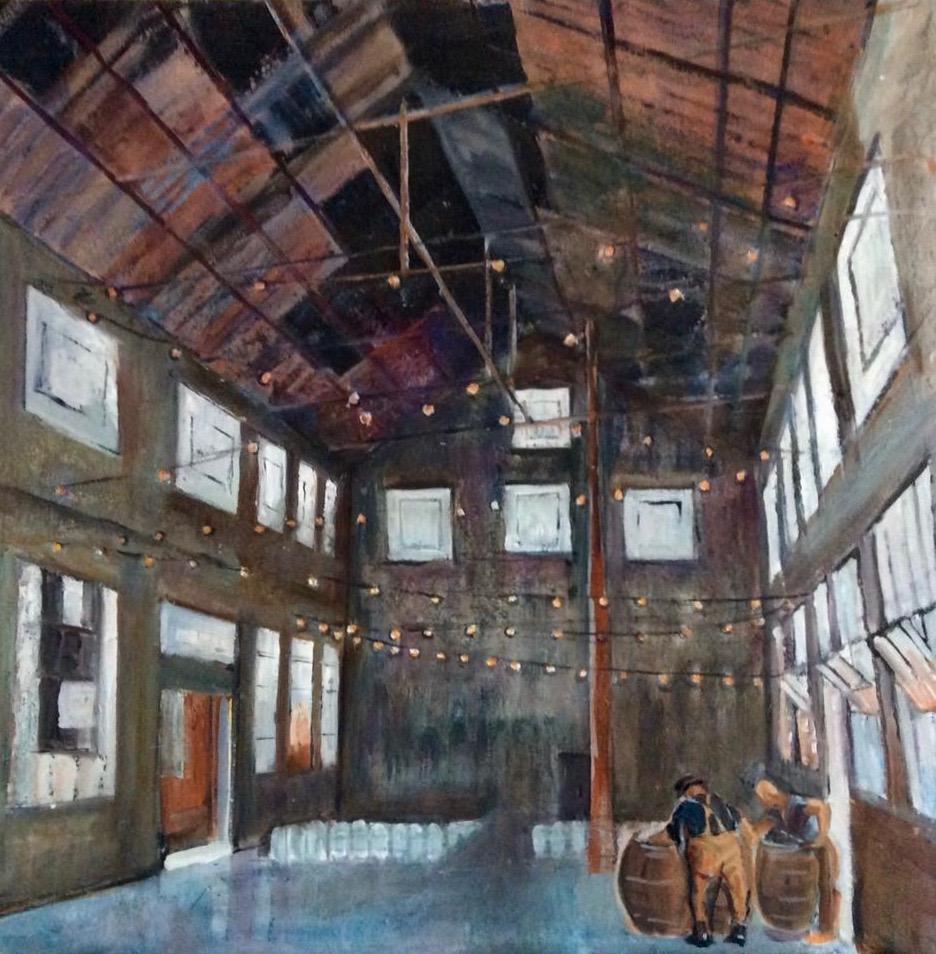 Sugar Mill   Oil  24 x24