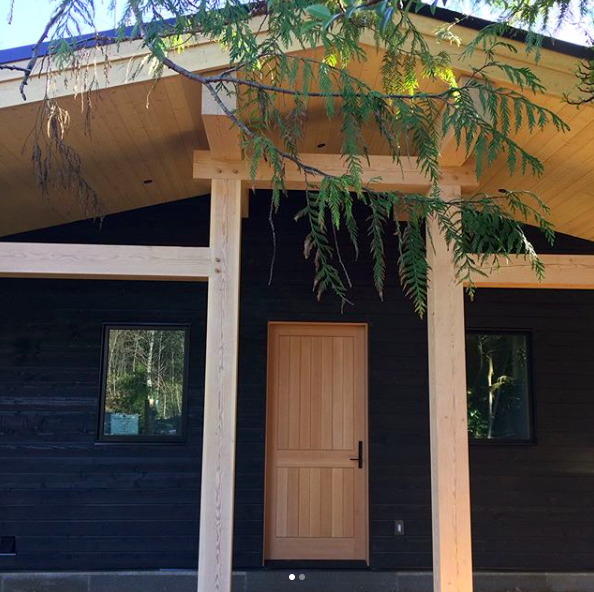 Walk past the giant cedar beams and a custom crafted, oversized door greets you as you step inside Noorish House in Tofino