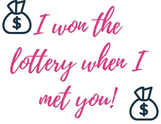 I won the lottery printable .jpg
