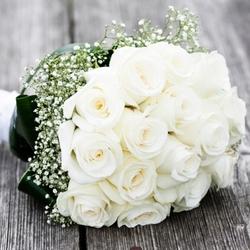 Roses Wedding Bouquet Bride $90