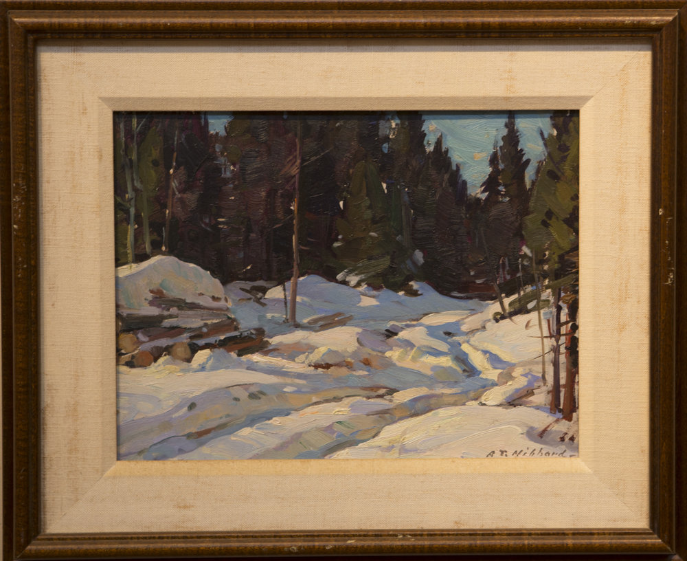 Lot # 65 : Winter Scene