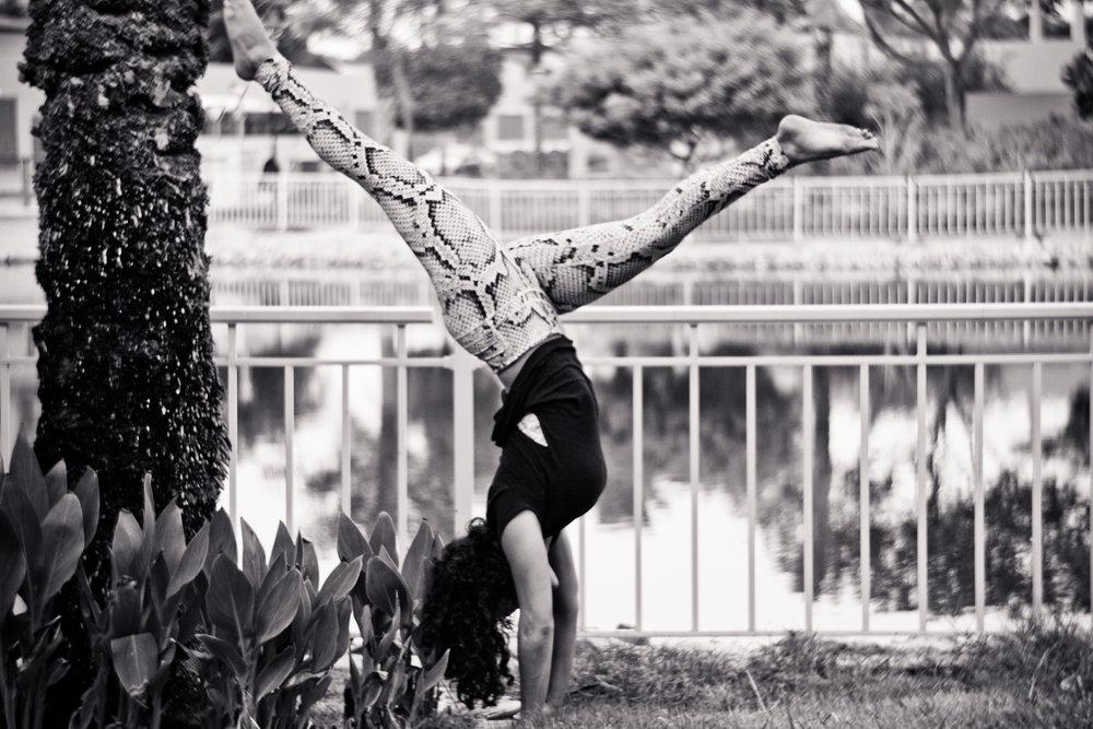 Dina Ghandour yoga jivamukti dubai