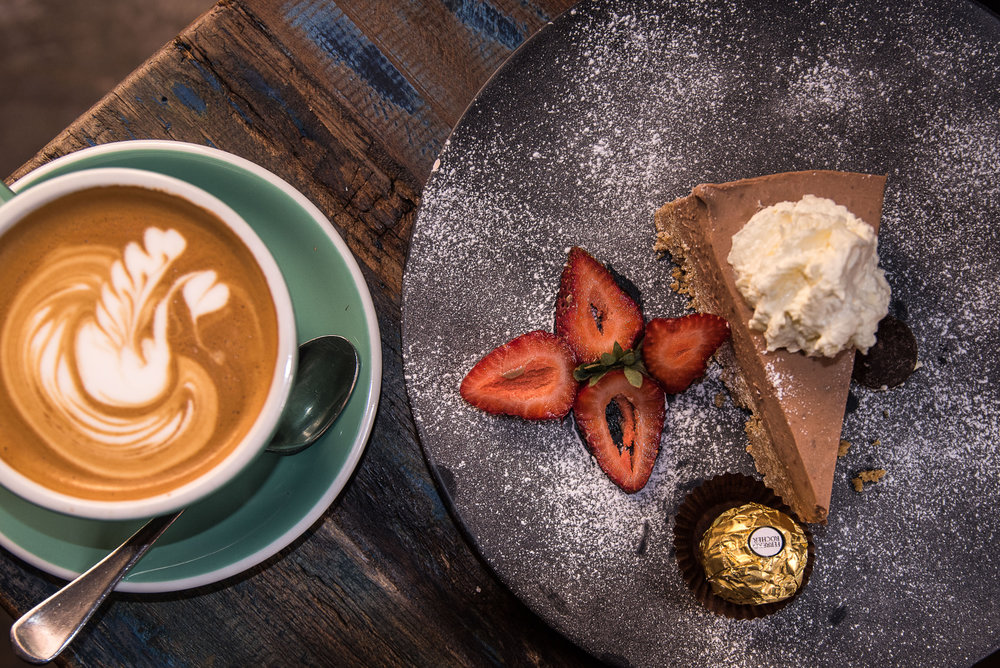 COFFEE - WE USE HIGH QUALITY 5SENSES COFFEE BEANS, ROASTED RIGHT HERE IN PERTH.YOU CAN ENJOY YOUR FAVOURITE BLEND OR SINGLE ORIGIN BEANS, PERFECTLY BREWED BY OUR EXPERT BARISTAS.PERFECT WITH ONE OF DEE'S HOMEMADE CAKES.
