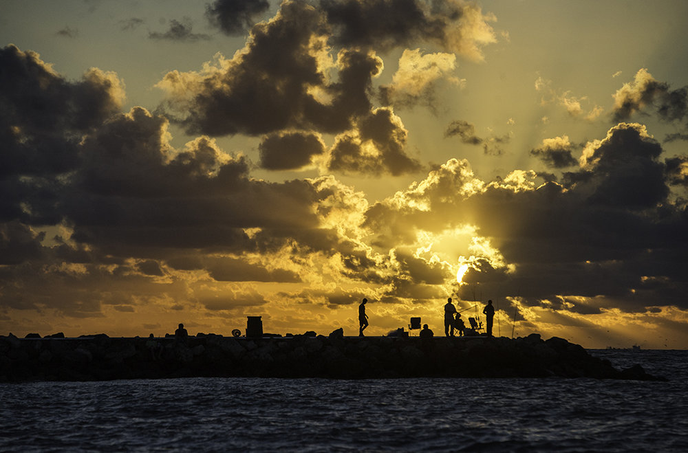 Sunrise in Fort Pierce, Florida