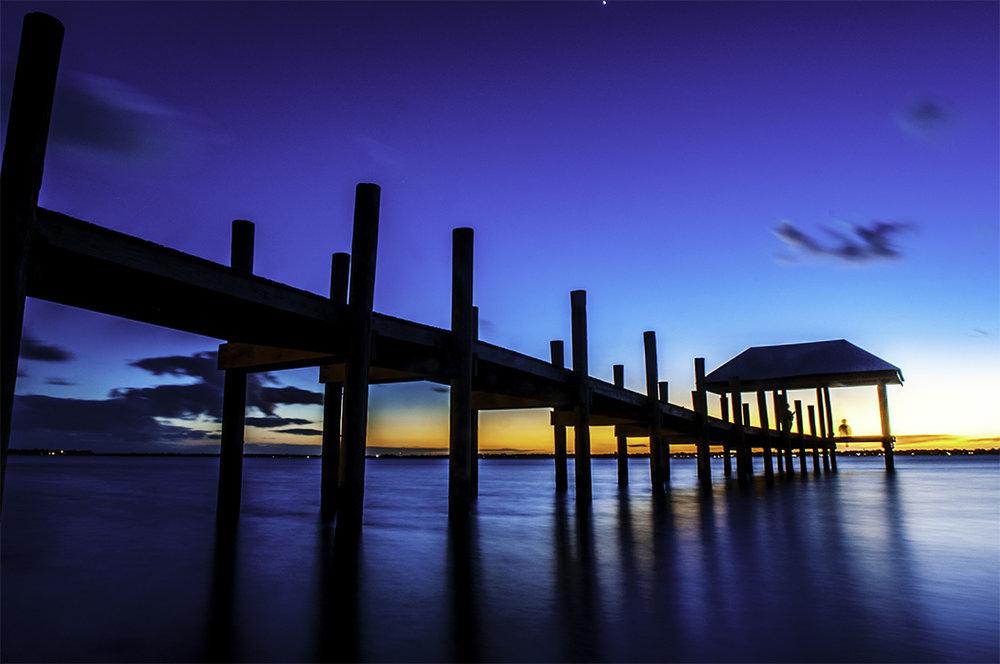 Sunset in Stuart, Florida