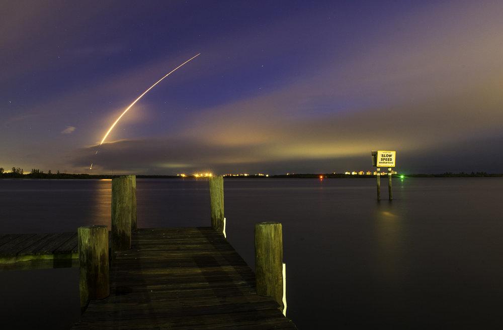 Atlas V rocket launches on October 2, 2015