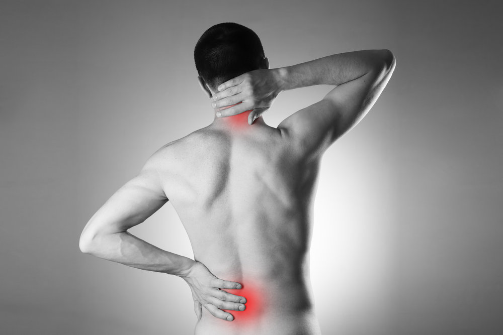 """A herniated disc is not just """"back pain"""". ©BigStockPhoto"""