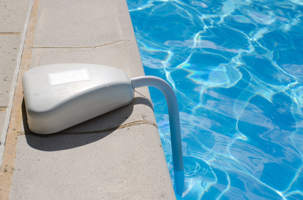 A reputable pool alarm from a top-rated company such as  PoolGuard can detect motion from up to 200-feet away. © BigStockPhoto