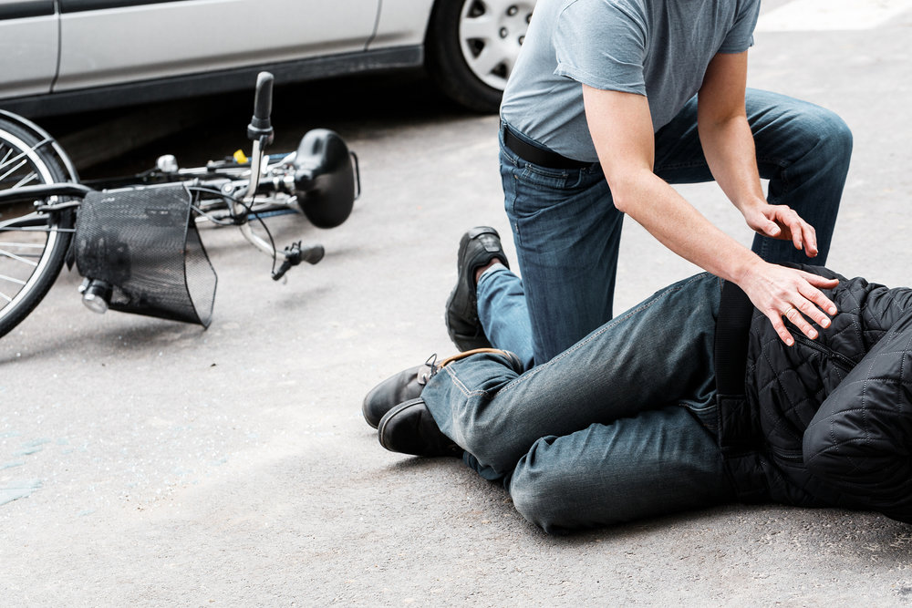 Unlike motor vehicle accidents in which another car is hit, providing even the smallest amount of protection around the driver, when a pedestrian is hit by a vehicle there is nothing to protect them from sustaining serious and often fatal injuries.  ©BigStockPhoto