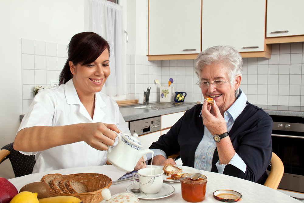 Nursing homes provide 24/7 care and the needs of the elderly are being met quickly and with compassion.  ©BigStockPhoto