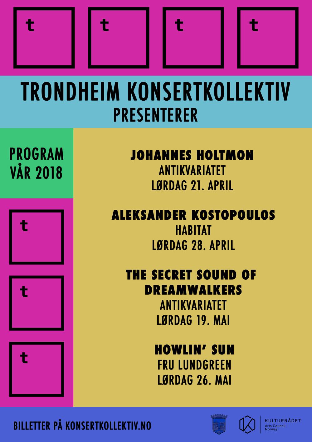 PROGRAMPLAKAT VÅR 2018