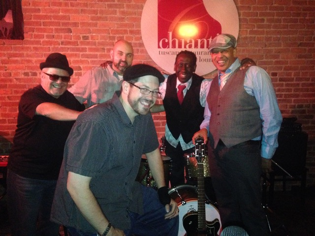 w/Brian Thomas, trombone and Jared Sims, baritone sax