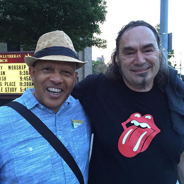 With Paolo Vinaccia after a Great show #xrijf #roc