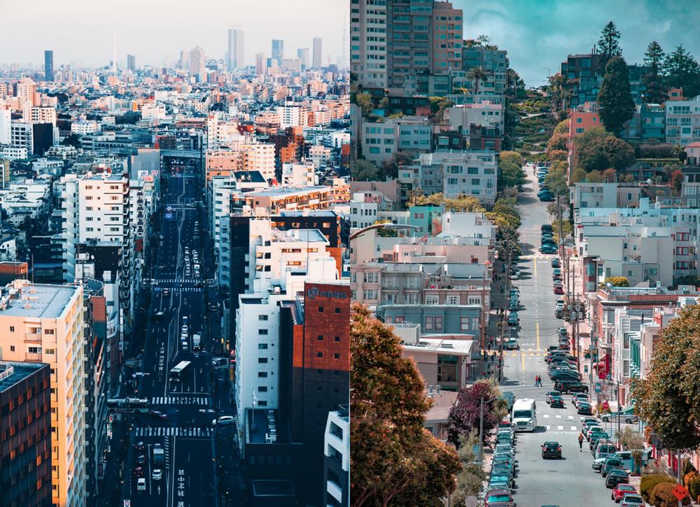 Tokyo | San Francisco ( Ryo Yoshitake ,  Hubert Mousseigne )