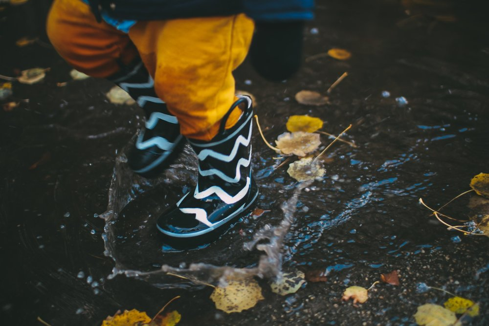 Have that pillow fight. Jump in puddles. Wrestle. Be your old silly self and listen to their sweet laughter. I know it means your coffee will get cold for the 14th time. But it'll be worth it, I promise. - Photo by Daiga Ellaby on Unsplash