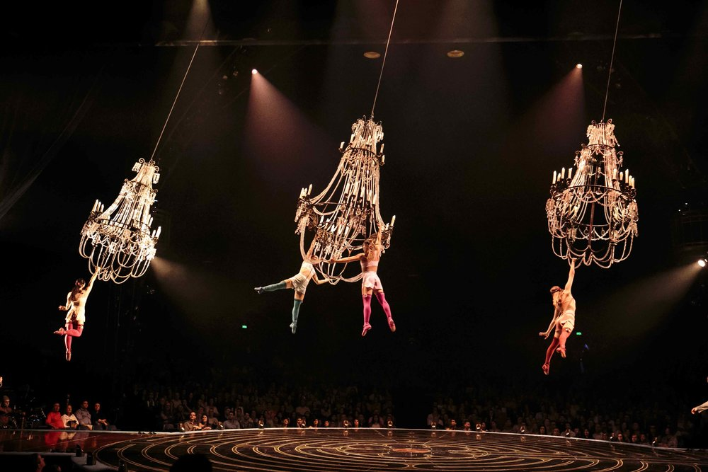Le spectacle Corteo du Cirque du Soleil. Photo : Cirque du Soleil