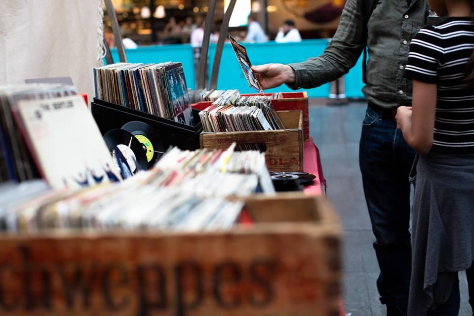 Le disquaire indépendant Vinyle Scène se spécialise en musique francophone et en rock progressif. Photo : gracieuseté de Vinyle Scène