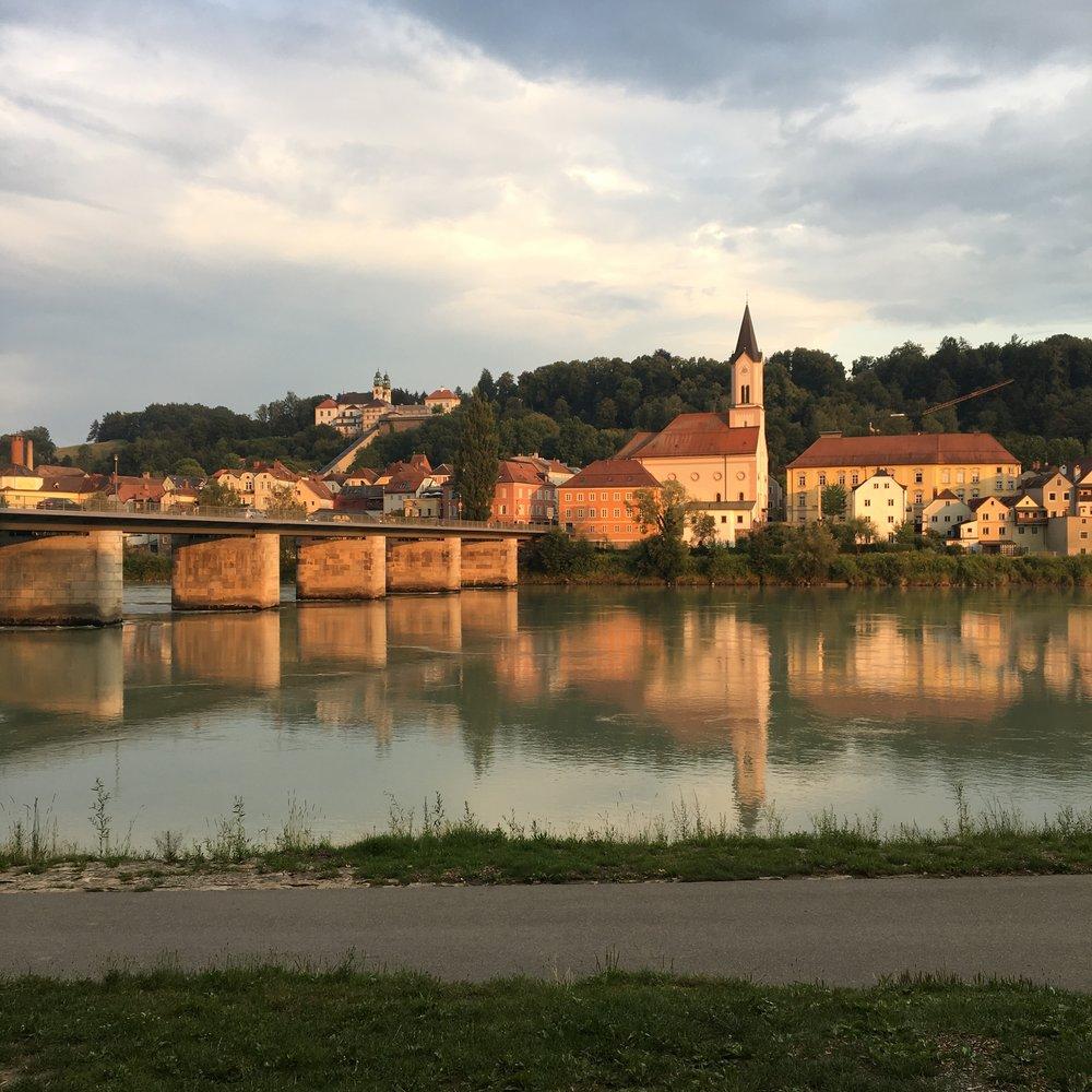 Point de départ, Passau (Allemagne)