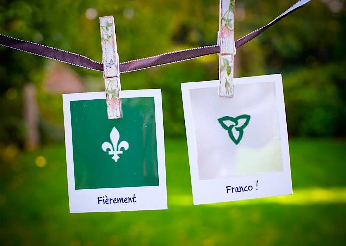 Photo via la page FB de Fier d'être Franco-Ontarien // Fière d'être Franco-Ontarienne
