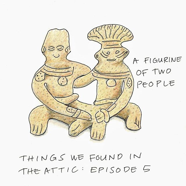 THINGS WE FOUND IN THE ATTIC: EPISODE 5 👫 Are they the keepers of this house? #juliadoodle