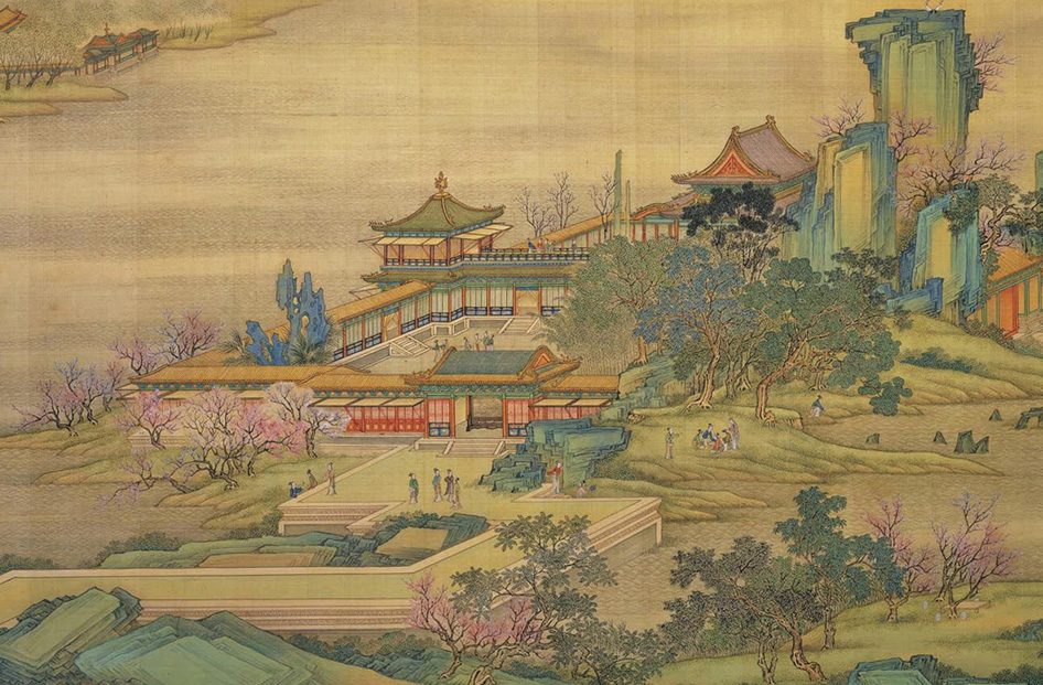 "The ""Qing Court Version"" of Along the River During the Qingming Festival, an 18th-century remake"