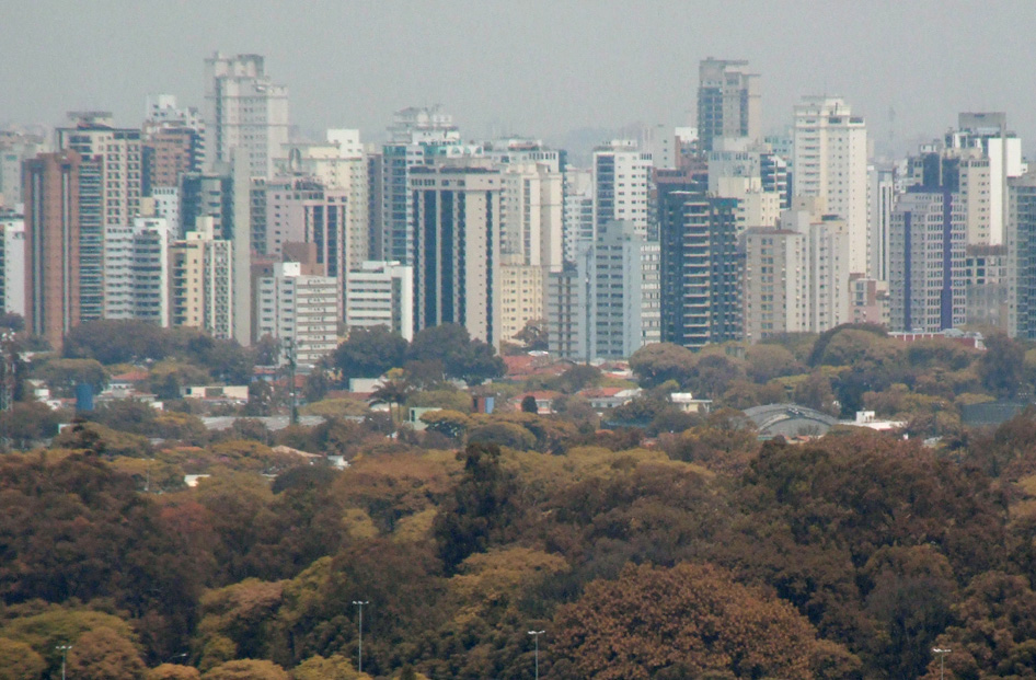 Ibirapuera panorama, Photo Paulo Kawazoe