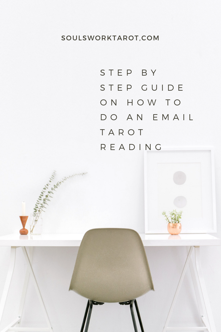 How to do a tarot email reading