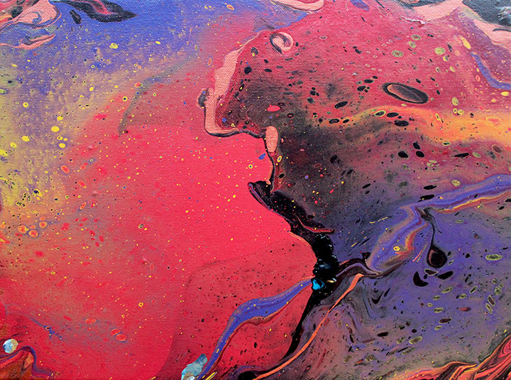 Fire in the Heavens (sold)